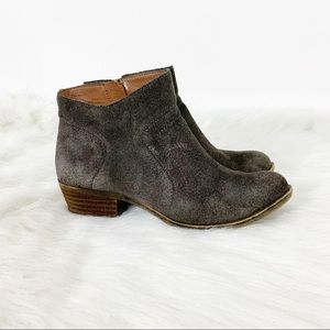 Lucky Brand l Brolley Suede Anke Booties Size 7